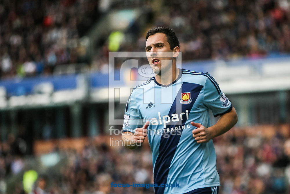 Stewart Downing of West Ham United during the Barclays Premier League match at Turf Moor, Burnley<br /> Picture by Daniel Chesterton/Focus Images Ltd +44 7966 018899<br /> 18/10/2014