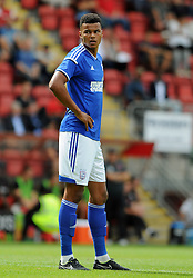 Ipswich Town's Tyrone Mings - photo mandatory by-line David Purday JMP- Tel: Mobile 07966 386802 02/08/14 - Leyton Orient v Ipswich Town - SPORT - FOOTBALL - Pre season - London -  Matchroom Stadium