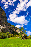 Lauterbrunnen Valley, Canton Bern, Switzerland