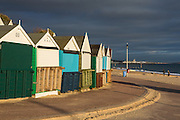 Bournemouth Beach in early winter