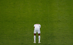 July 11, 2018 - Moscou, Rússia - MOSCOU, MO - 11.07.2018: ENGLAND VS CROATIA - Marcus Rashford of England mourns England'feat aft after England's matgaiagainst Coracica valid for the semifinal he 2018 World Cup held at Lut Luzhniki Stadium in Moscow, Russia. (Credit Image: © Marcelo Machado De Melo/Fotoarena via ZUMA Press)