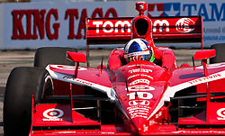 LONG BEACH, CA - APR 19: Indycar drivers Dario Franchitti in the #10 Target Chip Ganassi Racing  during the 35th Toyota Grand Prix of Long Beach on Apr 19, 2009. Photo by Eduardo E. Silva