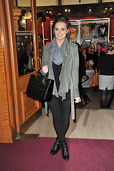 KARA TOINTON at the opening night of Totem by Cirque du Soleil held at The Royal Albert Hall, London on 5th January 2011.