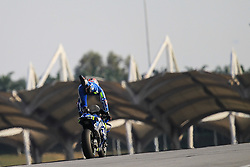 February 7, 2019 - Sepang, SGR, U.S. - SEPANG, SGR - FEBRUARY 07: Alex Rins of Team Suzuki Ecstar in action during the  second day of the MotoGP official testing session held at Sepang International Circuit in Sepang, Malaysia. (Photo by Hazrin Yeob Men Shah/Icon Sportswire) (Credit Image: © Hazrin Yeob Men Shah/Icon SMI via ZUMA Press)