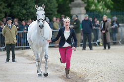 Wilmot Olivie, (GBR), Cool Dancer<br /> First Horse Inspection - Mitsubishi Motors Badminton Horse Trials <br /> Badminton 2015