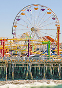 Pacific Park Amusement Park on the Santa Monica Pier
