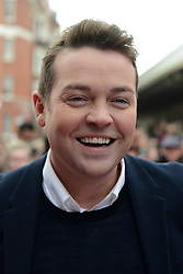 Britain's Got Talent. Stephen Mulhern arrives to Britain's Got Talent at Hammersmith Apollo. Hammersmith Apollo, London, United Kingdom. Tuesday, 11th February 2014. Picture by Peter Kollanyi / i-Images