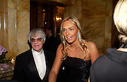 Bernie Ecclestone and  Tamara Ecclestone, Crillon 2004 Debutante Ball. Crillon Hotel. Paris. 26 November 2004. ONE TIME USE ONLY - DO NOT ARCHIVE  © Copyright Photograph by Dafydd Jones 66 Stockwell Park Rd. London SW9 0DA Tel 020 7733 0108 www.dafjones.com