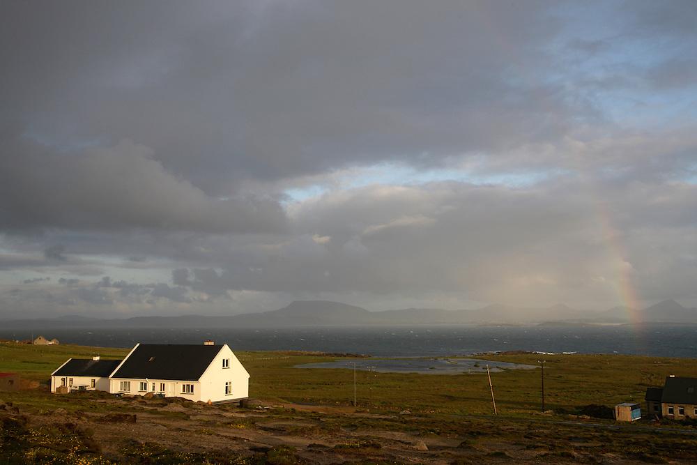 Ireland Donegal Tory island Village