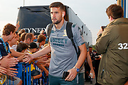Leeds United goalkeeper Francisco Casilla (13) arriving during the EFL Cup match between Leeds United and Stoke City at Elland Road, Leeds, England on 27 August 2019.