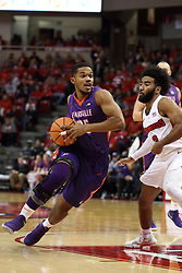 03 February 2018:  Duane Gibson during a College mens basketball game between the Evansville Purple Aces and Illinois State Redbirds in Redbird Arena, Normal IL