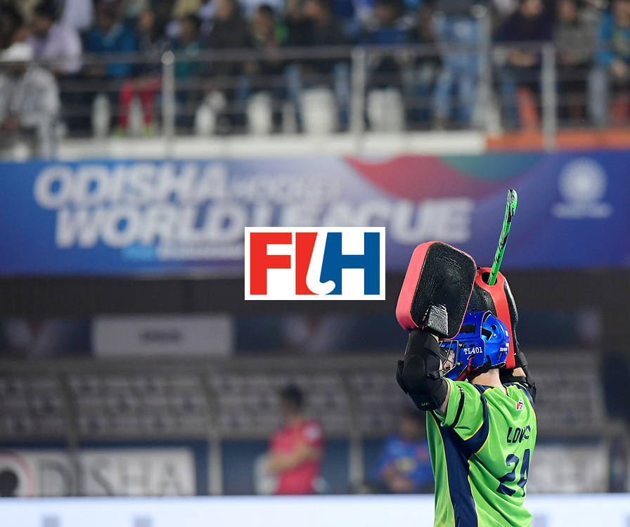 Odisha Men's Hockey World League Final Bhubaneswar 2017<br /> Match id:15<br /> Spain v Australia<br /> Foto: keeper Tyler Lovell (Aus) <br /> COPYRIGHT WORLDSPORTPICS FRANK UIJLENBROEK