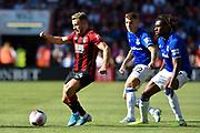 Ryan Fraser (24) of AFC Bournemouth on the attack during the Premier League match between Bournemouth and Everton at the Vitality Stadium, Bournemouth, England on 15 September 2019.