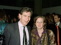 MR & MRS DENNIS STEVENSON he is chairman of Pearsons and the Tate Gallery, at a reception in London on 13th May 1997.LYH 67