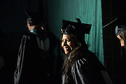 Gradute students enter the convocation ceremony during graduate commencement on Friday, May 3, 3013. Photo by Ben Siegel