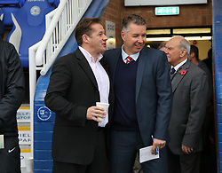 Graham Westley and Darren Ferguson  - Mandatory byline: Joe Dent/JMP - 07966 386802 - 24/10/2015 - FOOTBALL - ABAX Stadium - Peterborough, England - Peterborough United v Doncaster Rovers - Sky Bet League One