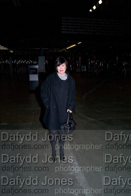 ALICE RAWTHORN, Rodchenko and Popova: Defining Constructivism. Tate Modern. London. 10 February 2009 *** Local Caption *** -DO NOT ARCHIVE -Copyright Photograph by Dafydd Jones. 248 Clapham Rd. London SW9 0PZ. Tel 0207 820 0771. www.dafjones.com<br /> ALICE RAWTHORN, Rodchenko and Popova: Defining Constructivism. Tate Modern. London. 10 February 2009