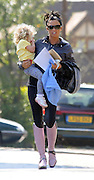 23.APRIL.2010 - SURREY<br /> <br /> KATIE PRICE DOES THE SCHOOL RUN BY PICKING UP DAUGHTER PRINCESS TIAAMII FROM SCHOOL NEAR HER HOME IN SURREY, WEARING HER PINK RIDING BOOTS. <br /> <br /> BYLINE: EDBIMAGEARCHIVE.COM<br /> <br /> *THIS IMAGE IS STRICTLY FOR UK NEWSPAPERS AND MAGAZINES ONLY*<br /> *FOR WORLD WIDE SALES AND WEB USE PLEASE CONTACT EDBIMAGEARCHIVE - 0208 954 5968*