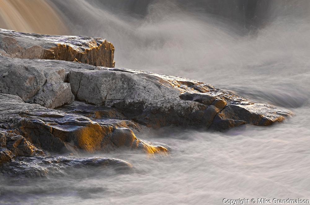 Rocks at Burleigh Falls in the Kawartha DIstrict<br /> <br /> Ontario<br /> Canada