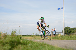 Tayler Wiles (Orica AIS) attacks at the 111 km Stage 4 of the Boels Ladies Tour 2016 on 2nd September 2016 in 's-Hertogenbosch, Netherlands. (Photo by Sean Robinson/Velofocus).