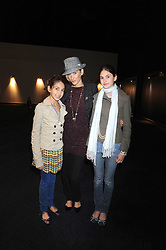 "LISA BUTCHER and her daughters, left AMBER and Right OLIVIA at a VIP Opening night of Disney & Pixar's ""Finding Nemo on Ice"" at The O2 Arena Grennwich London on 23rd October 2008."
