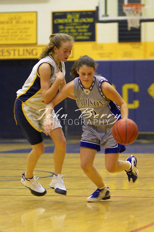 JV Girls Basketball..vs Rappahannock..January 28, 2005