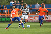 Forest Green Rovers Ben Jefford (3) runs forward during the Vanarama National League match between Braintree Town and Forest Green Rovers at the Amlin Stadium, Braintree, United Kingdom on 24 September 2016. Photo by Shane Healey.