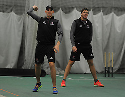 Somerset's Craig Overton during training.  - Mandatory byline: Alex Davidson/JMP - 11/02/2016 - CRICKET - The Cooper Associates County Ground -Taunton,England - Somerset CCC  Media access - Pre-Season