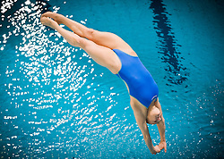 19.05.2012, Pieter van den Hoogenband Swimming Stadium, Eindhoven, NED, LEN, Turmspring Europameisterschaft 2012, Damen, 3 Meter Springbrett, im Bild Tania Cagnotto (ITA) // during Women's 3m springboard - preliminary of LEN Diving European Championships at Pieter van den Hoogenband Swimming Stadium, Eindhoven, Netherlands on 2012/05/19. EXPA Pictures © 2012, PhotoCredit: EXPA/ Insidefoto/ Giorgio Perottino..***** ATTENTION - for AUT, SLO, CRO, SRB, SUI and SWE only *****