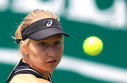 Australia's Daria Gavrilova during day four of the Nature Valley Classic at Edgbaston Priory, Birmingham. PRESS ASSOCIATION Photo. Picture date: Thursday June 21, 2018. See PA story TENNIS Birmingham. Photo credit should read: Simon Cooper/PA Wire. RESTRICTIONS: Editorial use only, no commercial use without prior permission