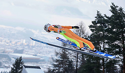 03.01.2015, Bergisel Schanze, Innsbruck, AUT, FIS Ski Sprung Weltcup, 63. Vierschanzentournee, Training, im Bild Ronan Lamy Chappuis (FRA) // Ronan Lamy Chappuis of France in action during Trial Jump of 63 rd Four Hills Tournament of FIS Ski Jumping World Cup at the Bergisel Schanze, Innsbruck, Austria on 2015/01/03. EXPA Pictures © 2015, PhotoCredit: EXPA/ Peter Rinderer