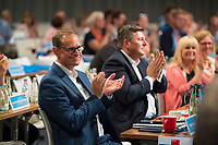 DEU, Deutschland, Germany, Berlin, 01.06.2018: Berlins Regierender Bürgermeister Michael Müller beim Landesparteitag der Berliner SPD im Hotel Andels.