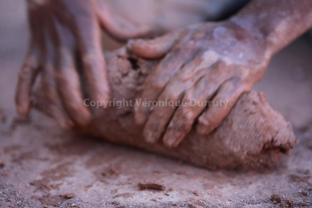 chez Mohamed le potier de Skoura, Maroc Sud // Skoura,  Souhern Morocco