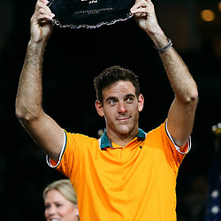 Juan Martin del Potro of Argentina during the men's final of the 2018 US Open Tennis Championships on September 9, 2018 in New York, United States. (Photo by Marek Janikowski/Icon Sport)