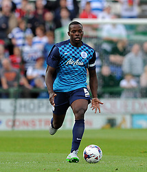 QPR's Nedum Onuoha - Photo mandatory by-line: Harry Trump/JMP - Mobile: 07966 386802 - 11/08/15 - SPORT - FOOTBALL - Capital One Cup - First Round - Yeovil Town v QPR - Huish Park, Yeovil, England.