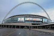 General view of Wembley Stadium during the Vanarama National League Play Off Final match between Tranmere Rovers and Forest Green Rovers at Wembley Stadium, London, England on 14 May 2017. Photo by Shane Healey.
