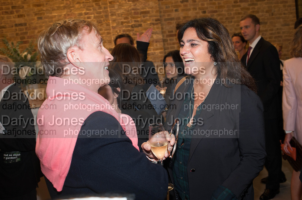 JASPER CONRAN; SOLANGE AZAGURY-PARTRIDGE, VIP opening  of the new Serpentine Sackler Gallery designed by Zaha Hadid . Kensinton Gdns. London. 25 September 2013