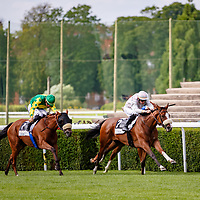 Jadala (E. Hardouin) wins Prix Le Bonbon Handicap in Saint-Cloud, 14/07/2017, photo: Zuzanna Lupa / Racingfotos.com