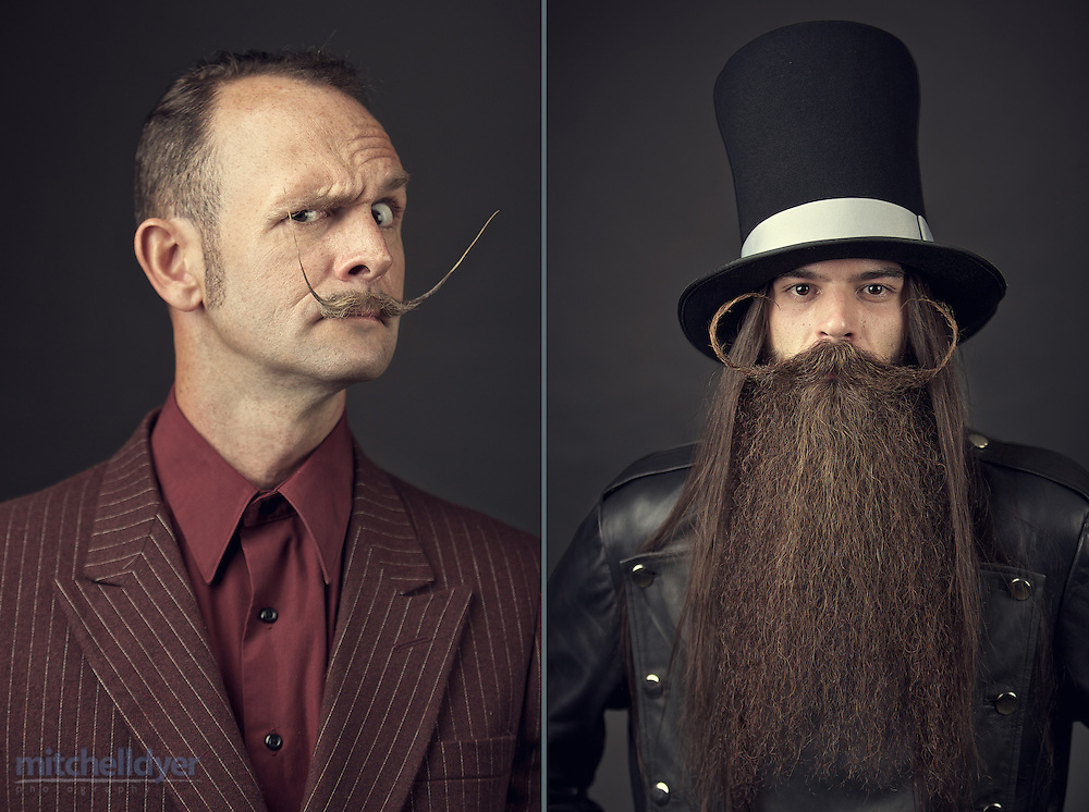 The Just For Men World Beard and Moustache Championships crowned 18 title winners, highlighting the best and boldest examples of facial hair from across the globe on Saturday, October 25th, 2014 in Portland, OR.  (Craig Mitchelldyer/AP Images for Just for Men)