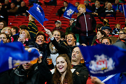 Bristol Rugby fans in the South Stand - Mandatory byline: Rogan Thomson/JMP - 06/11/2015 - RUGBY UNION - Ashton Gate Stadium - Bristol, England - Bristol Rugby v Doncaster Knights - Greene King IPA Championship.
