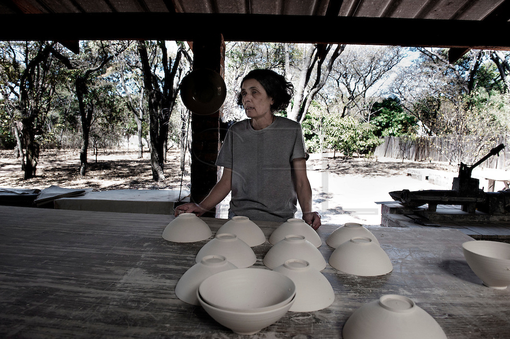 Marjorie Wallace, a ceramist from Harare, feels that even if there are some things going better the situation is still dramatic and she thinks it is not going to get better.