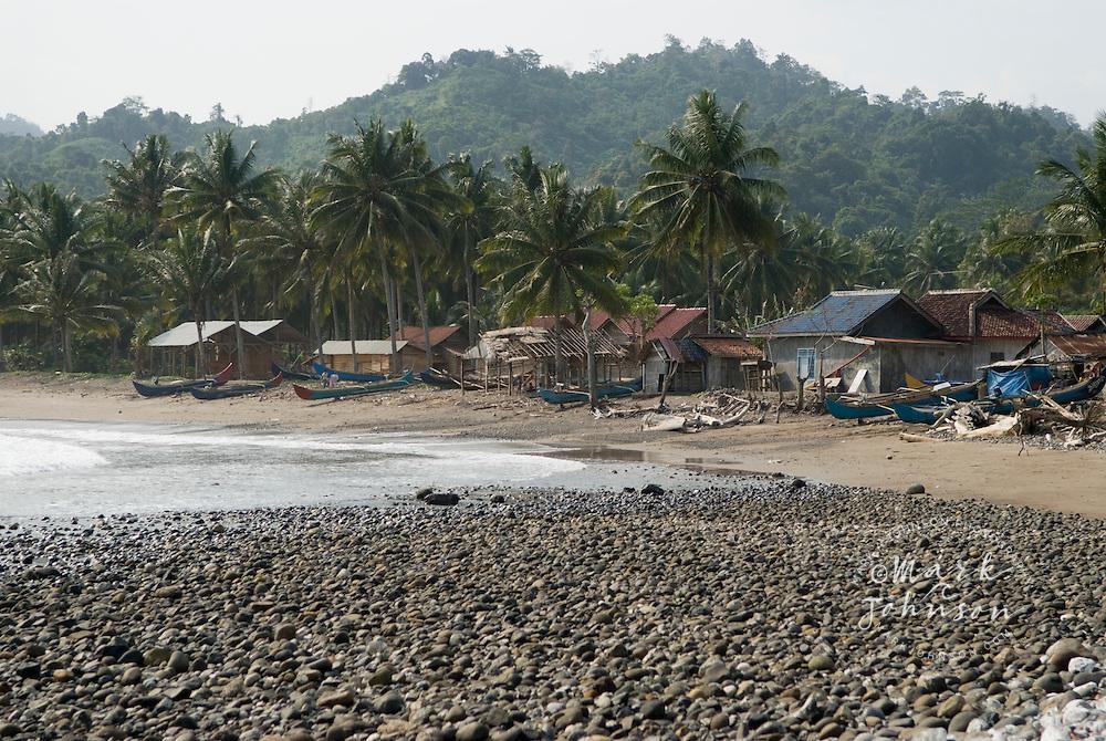 Fishing village, S. Sumatra, Indonesia