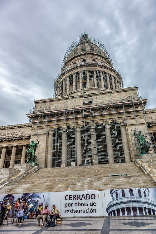 The Capitolio, Havana, Cuba.