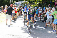 Giovanni Visconti - Movistar - 28.05.2015 - Tour d'Italie - Etape 18 : Melide / Verbania <br />