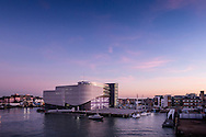 Sir Ben Ainslie's Land Rover BAR America's Cup base in Old Portsmouth designed by HGP Architects.<br /> Picture date: Thursday January 19, 2017.<br /> Photograph by Christopher Ison &copy;<br /> 07544044177<br /> chris@christopherison.com<br /> www.christopherison.com