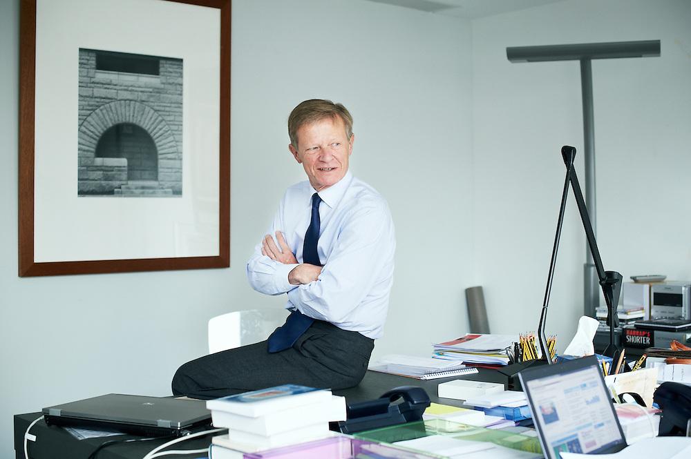 PARIS, FRANCE. MAY 4, 2012. Charles-Henri Filippi, Citigroup France's CEO. Photo: Antoine Doyen