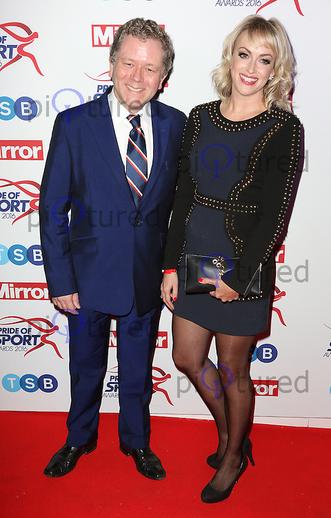 Jon Culshaw, Pride of Sport Awards, Grosvenor House Hotel, London UK, 07 December 2016, Photo by Richard Goldschmidt