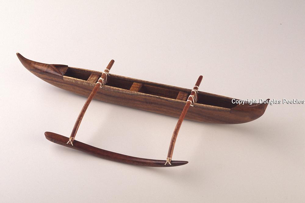 Polynesian outrigger canoe<br />