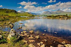 Lochan na h-Achlaise on Rannoch Moor, Highlands of Scotland<br /> <br /> (c) Andrew Wilson | Edinburgh Elite media