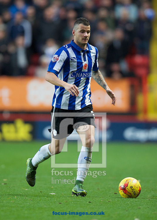 Daniel Pudil of Sheffield Wednesday during the Sky Bet Championship match at The Valley, London<br /> Picture by Alan Stanford/Focus Images Ltd +44 7915 056117<br /> 07/11/2015